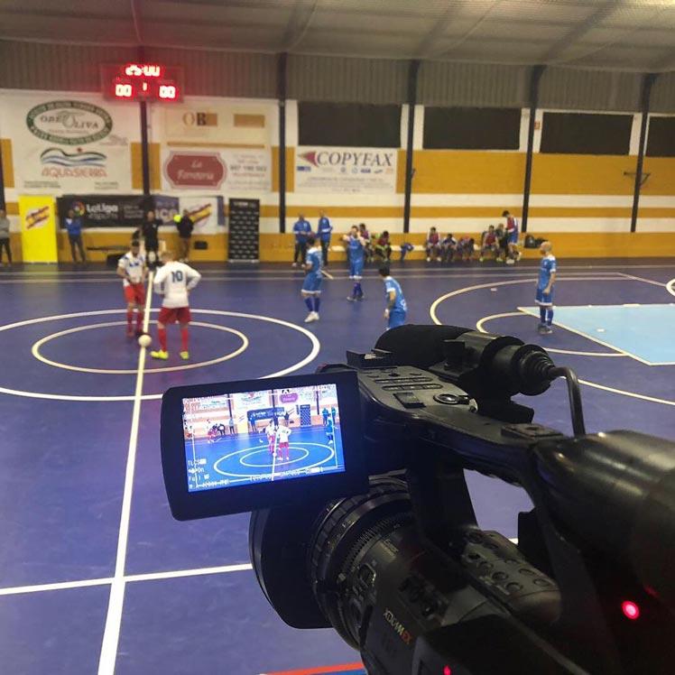 Streaming en Madrid Campeonato España de futbol sala EnStream