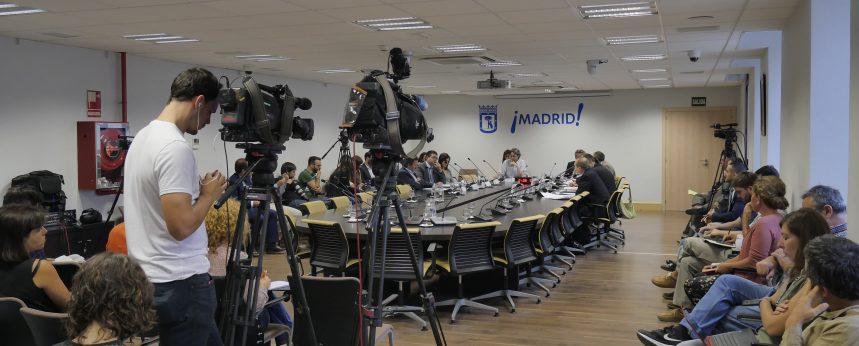 Streaming Eveneto Ayuntamiento Madrid EnStream
