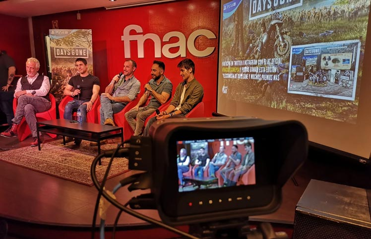Streaming en Madrid FNAC Days Gone EnStream