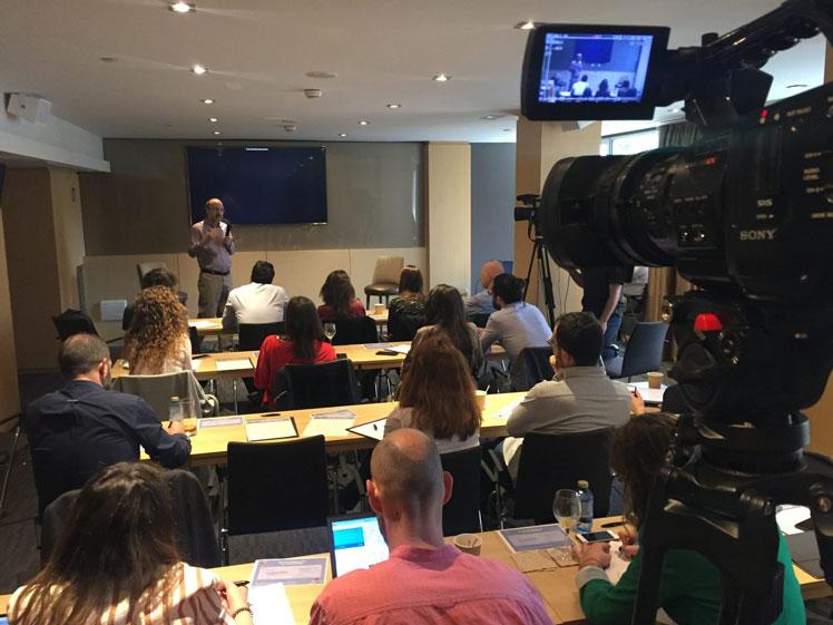 Streaming en Madrid para Bristol Myers En Stream